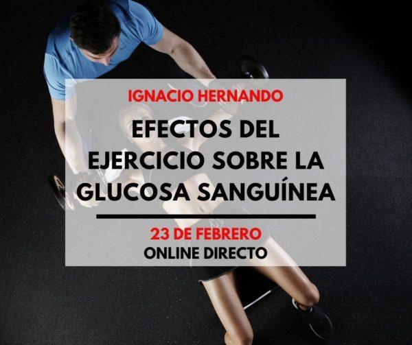 Efectos del ejercicio sobre la glucosa sanguínea